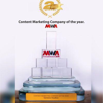 Genesis Studios bags Marketing World Awards (MWA)